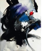 Jean MIOTTE (né en 1926) SANS TITRE, 1972 Acrylique sur toile
