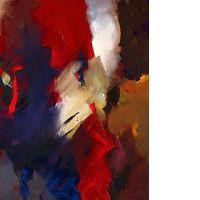 Jean MIOTTE (né en 1926) SANS TITRE Huile sur toile