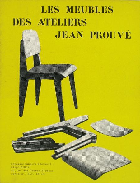 'Les meubles des ateliers Jean Prouvé' (1949) catalogue publicitaire.