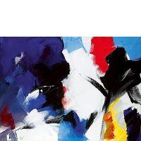 Jean MIOTTE (né en 1926) COMPOSITION, 1980 Huile sur toile