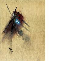 Jean MIOTTE (né en 1926) COMPOSITION, 1974-1976 Huile sur toile