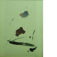 Jean MIOTTE (né en 1926) COMPOSITION, 1977 gouache sur papier