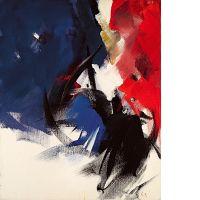 Jean MIOTTE (né en 1926) COMPOSITION, 1989 Huile sur toile