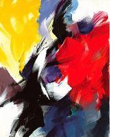 Jean MIOTTE (né en 1926) SANS TITRE, 1989 huile sur toile