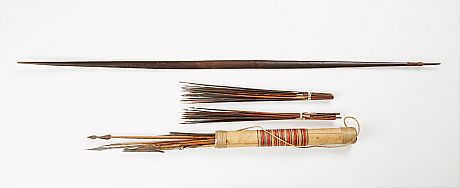 Bow by arrows
