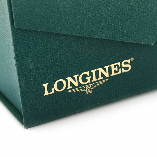 Longines: A gentleman's wristwatch of steel and gold-plated steel. Model Admiral. Quartz with date. 1990s.