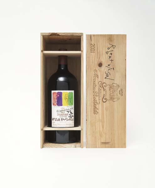 Bottle of Chateau Mouton Rothschild, 2001