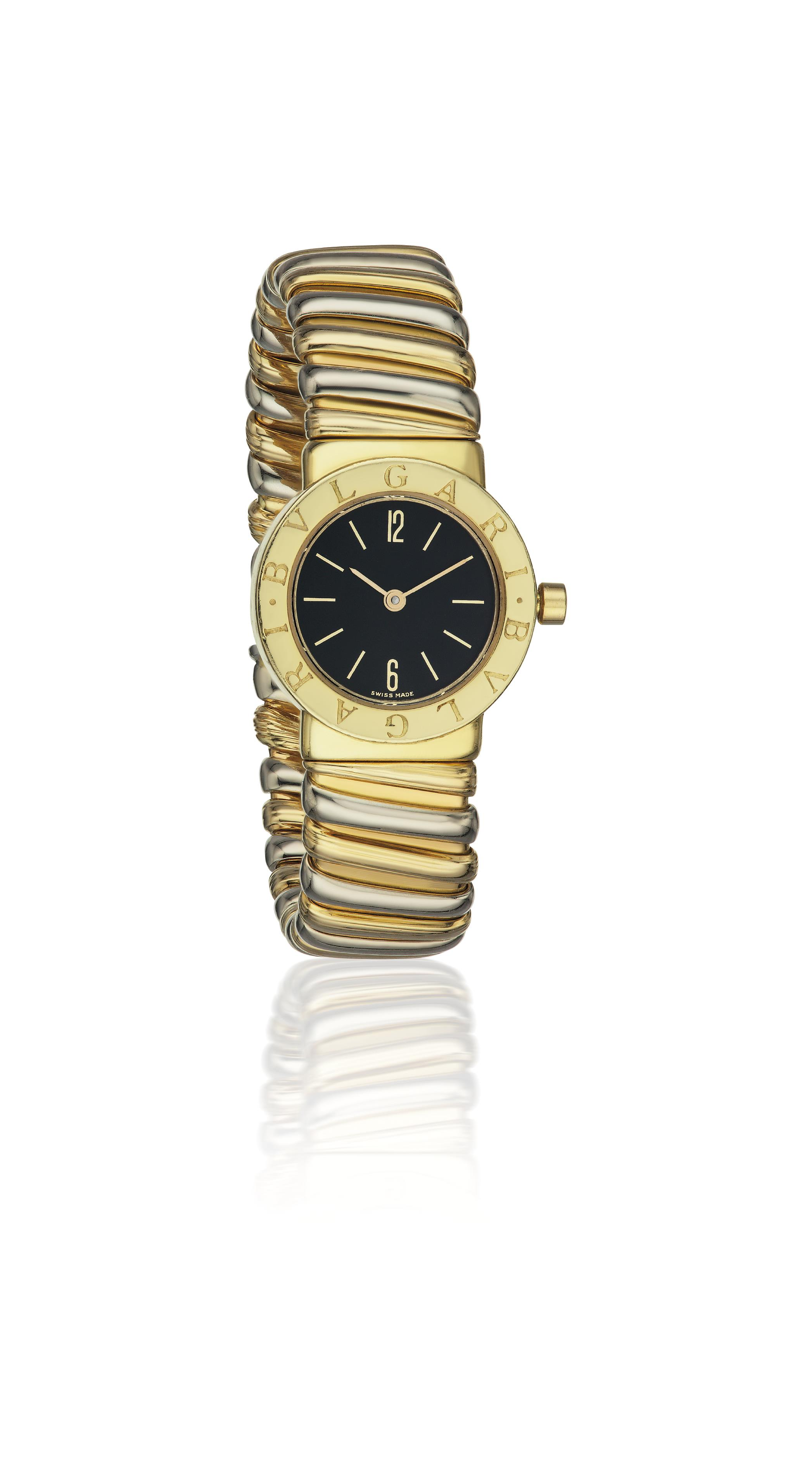 A Lady's Gold 'Monte Carlo' Wristwatch