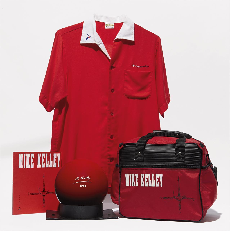 Bowling Ball, Bag, Shirt and Catalog