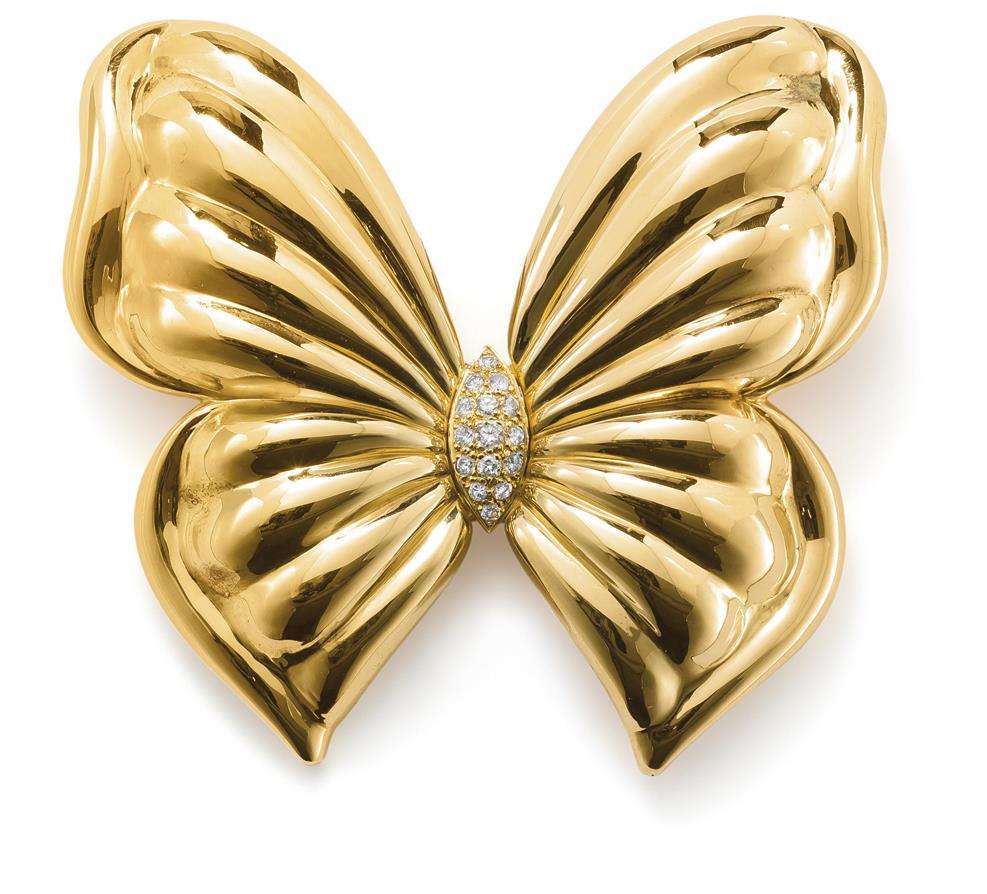 A diamond brooch, by Van Cleef & Arpels