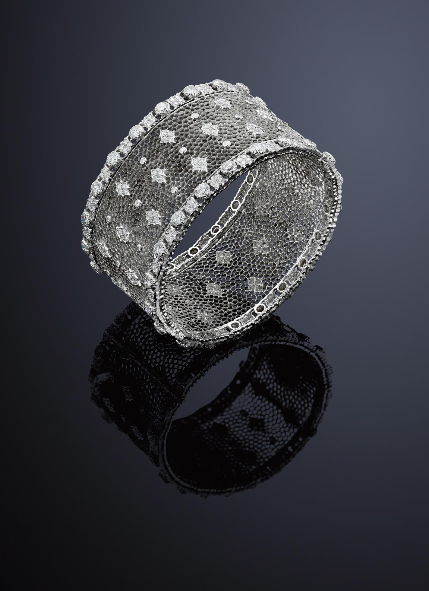 A diamond bangle, by Gianmaria Buccellati