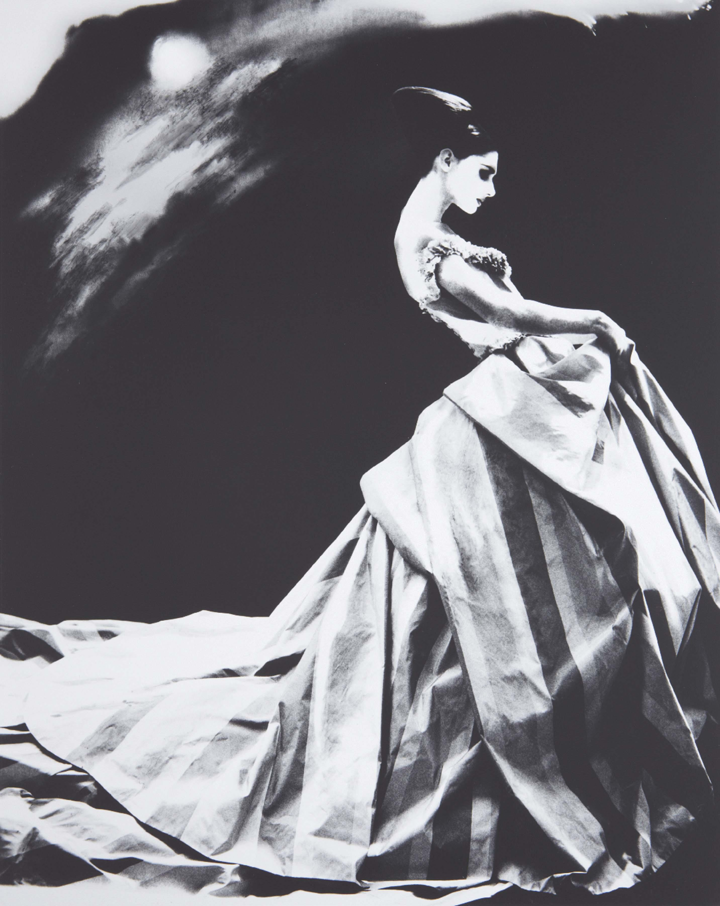 Night Bloom, Anneliese Seubert, ball gown by John Galliano for Haute Couture Givenchy, Paris
