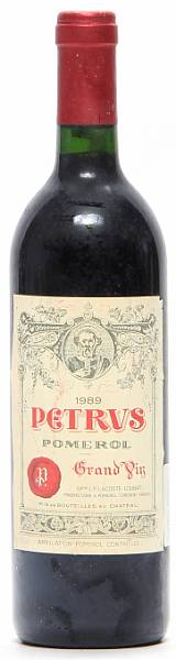 1 bt. Château Petrus, Pomerol 1989 A (hf/in).