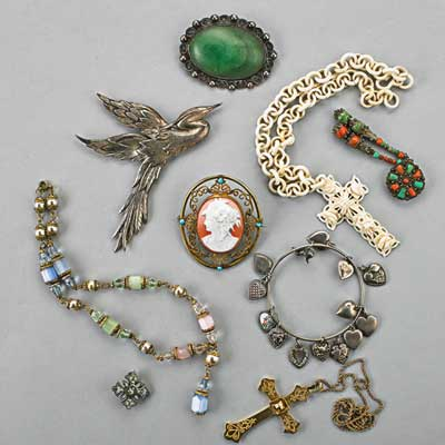 ANTIQUE AND VINTAGE JEWELRY,...