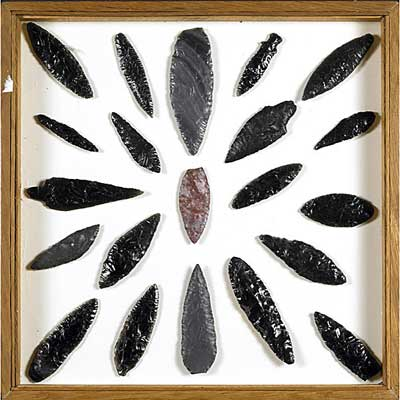 ARROWHEADS AND IMPLEMENTS;...