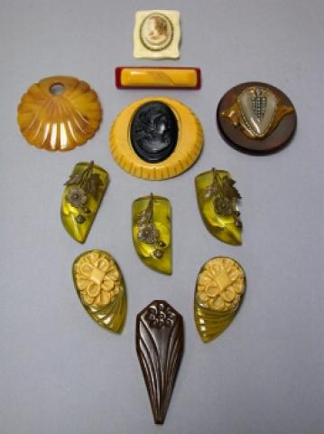 Group of Bakelite Jewelry