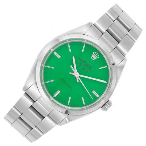 Gentleman's Stainless Steel 'Air-King' Wristwatch, Rolex