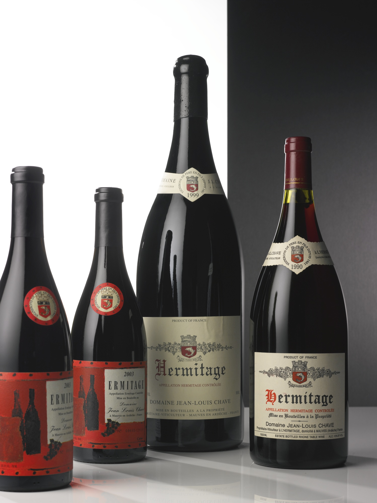 HERMITAGE ROUGE 1990 JEAN-LOUIS CHAVE