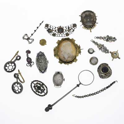 ANTIQUE JEWELRY FINDINGS &...