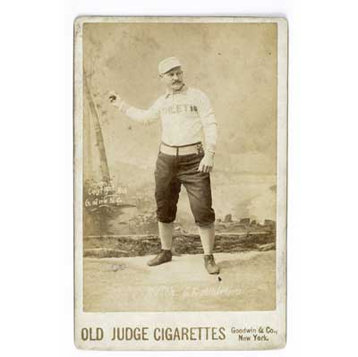 Old Judge Cigarettes baseball...