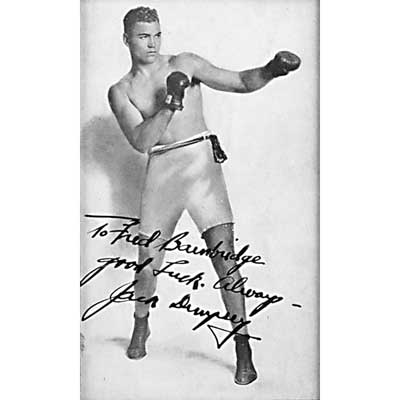 BOXING AUTOGRAPHS; Muhammad Ali...