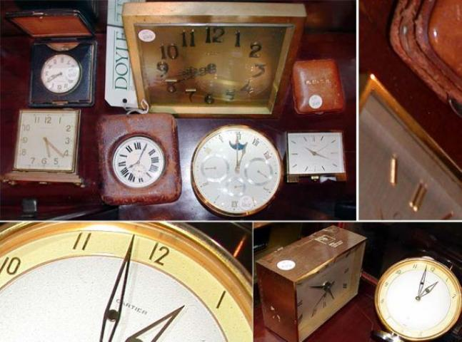 Group of Eight Clocks and Watches