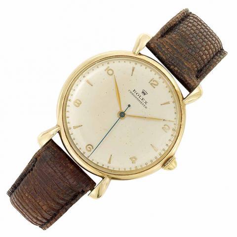 Gentleman's Gold Wristwatch, Rolex
