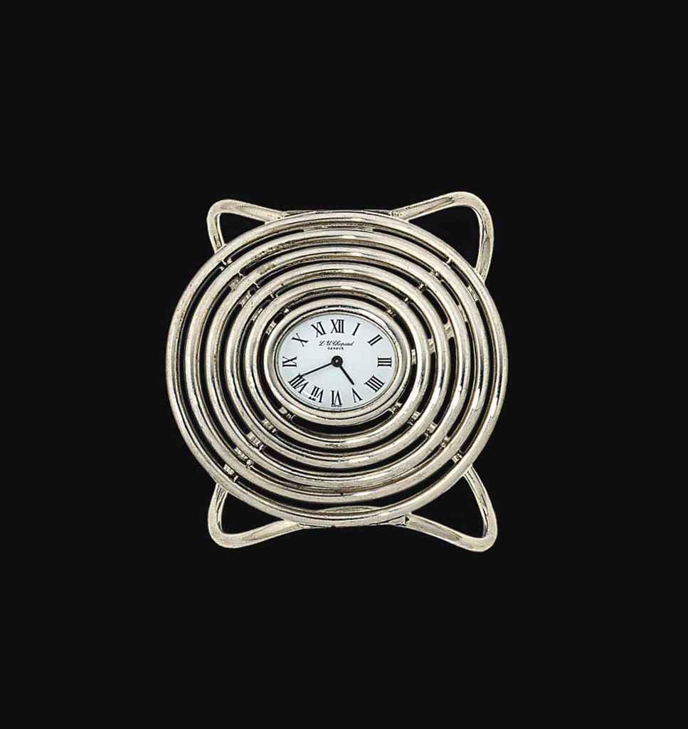 A 'L.U.' bangle wristwatch, by Chopard