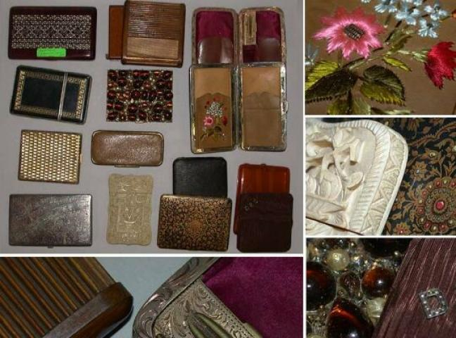 Miscellaneous Group of Cigarette Cases