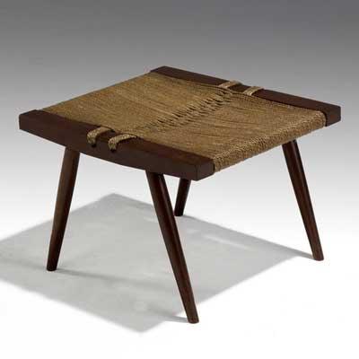 GEORGE NAKASHIMA Walnut Grass-Seat...