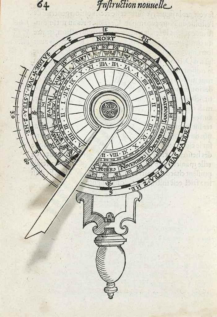 COIGNET, Michiel (1549-1623). Instruction nouvelle des poincts plus excellents & necessaires, touchant l'art de naviguer. Antwerp: Henry Hendrix, 1581.