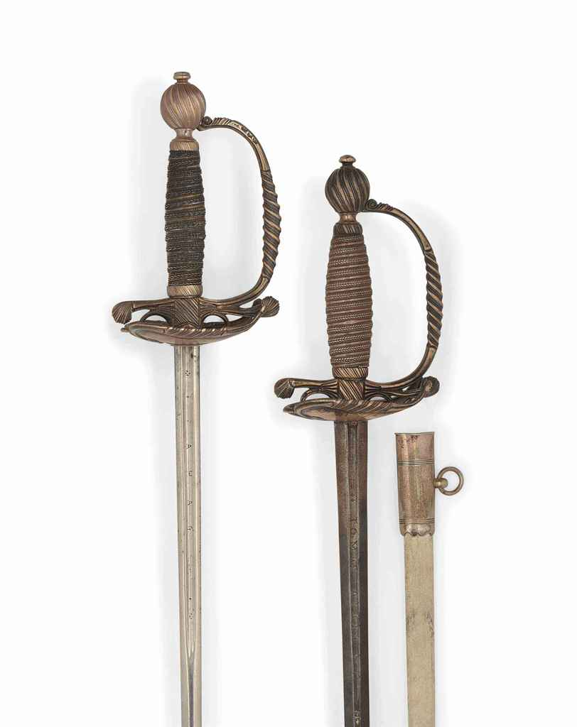 TWO BRITISH COURT SWORDS