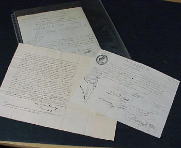 FRENCH AUTOGRAPHS