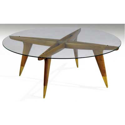 GIO PONTI Coffee table with...