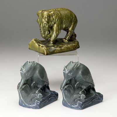 ROOKWOOD Three Production bookends:...