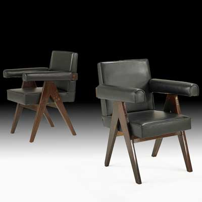 PIERRE JEANNERET; Pair of committee...