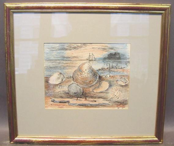 David Davidovich Cherson Burliuk Russian/American, 1882-1967 SEA SHELLS, LONG ISLAND SOUND