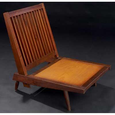 GEORGE NAKASHIMA Walnut Cushion...