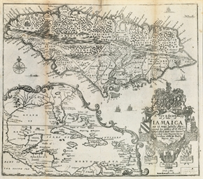 BLOME, Richard (d. 1705). The Present State Of His Majesties Isles and Territories in America. London: Printed by H. Clark for Dolman Newman 1687.