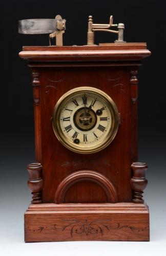 Illuminated H.G. Davis Alarm Clock.