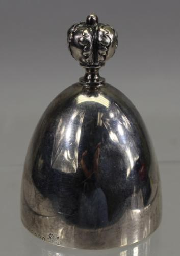 Antique Sterling Silver Bell