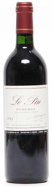 1 bt. Le Pin, Pomerol 1995 A (hf/in).