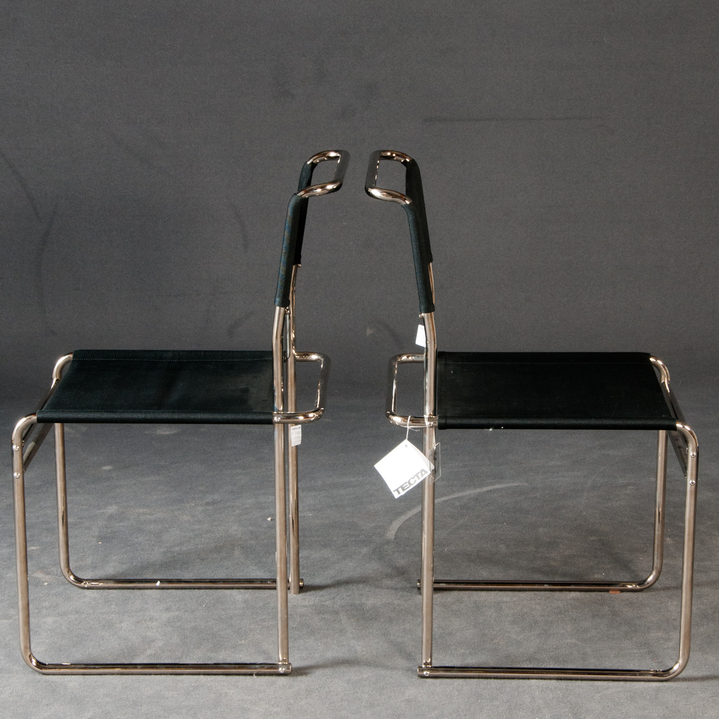 Marcel Breuer, Two chairs, model B 40 for Tecta (2).