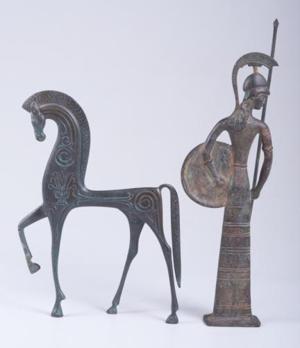 Bronze Figural Statues, Two (2)