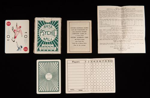 Psychic Baseball Card Game. New York