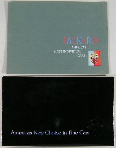 Six Vintage Packard Automobile Brochures