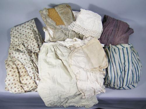 Antique Clothing Box Lot