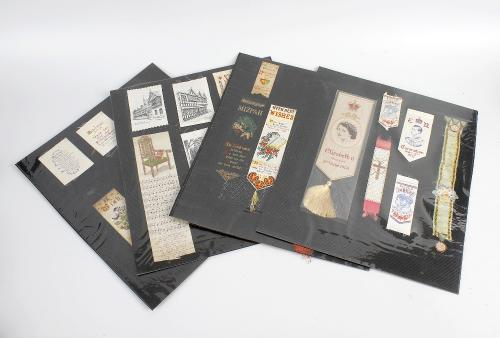 A collection of Thomas Stevens of Coventry, and other woven silk bookmarks, etc. (36).