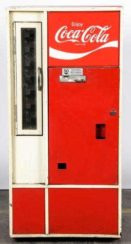 Vintage Coca-Cola Vending Machine