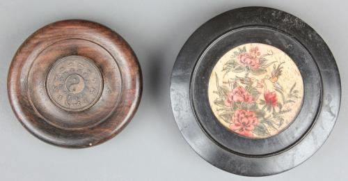 2 Antique Chinese Feng Shui Compasses